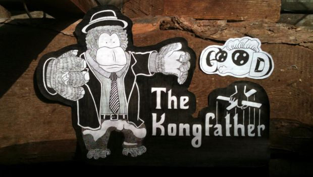 Planks 007 - The Kongfather by milzs