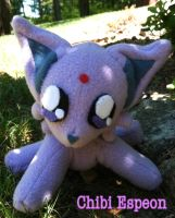 Chibi Espeon Commission by CeltysShadow