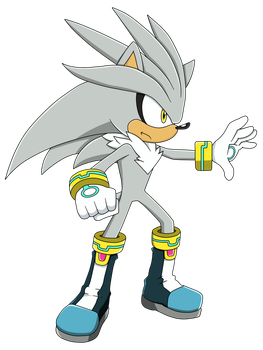 Silver the Hedgehog by Waito-chan