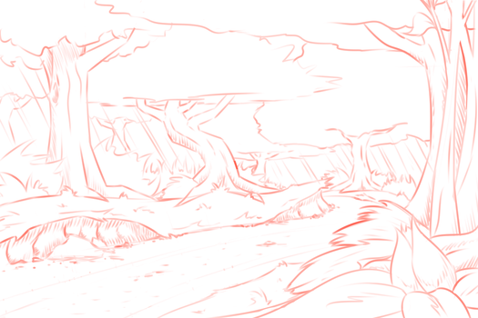 WIP - A Little Forest Trail by NorthernSprint