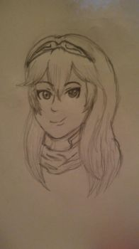 Lucina sketch by Brisa-The-Fox