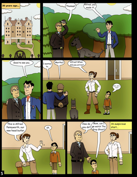 Alfred's Knight Page 5 by clinteast