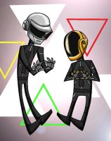 Daft Punk by aerettberg