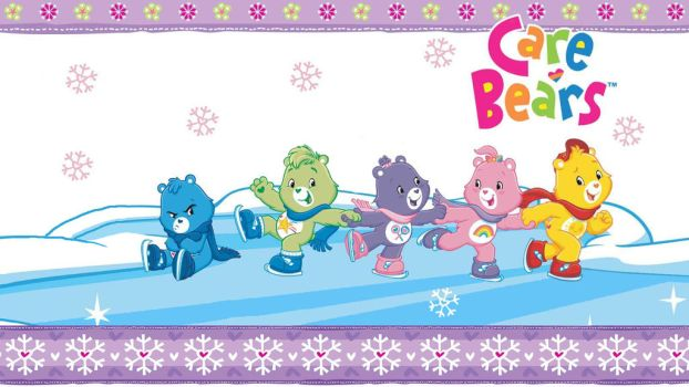 Care Bear Christmas Wallpaper (Widescreen) by OopsyBearOS