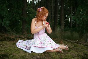 Pink dress 40 by MarjoleinART-Stock