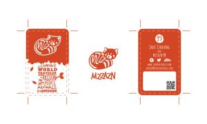 mzzazn-Business-Card by IrianWhitefox