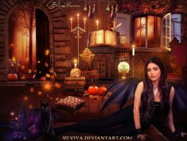 Halloween Fairy by silviya
