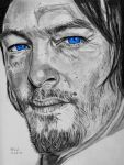 Norman Reedus 2 by X-Enlee-X
