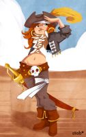 Pirate chick by sab-m