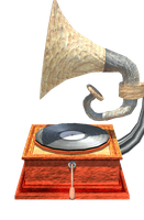 Grammophone player 3D by sgtcortez101