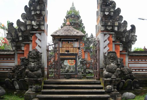 Bali, temple complex by MondoDeluxe