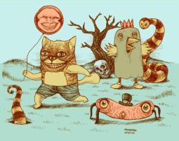 badcat and friends by bawayan