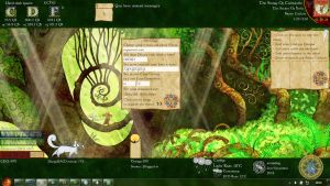 Secret of Kells for Rainmeter by Squirrel-slayer