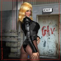 Black Canary_Yet Again by Poserhobbit