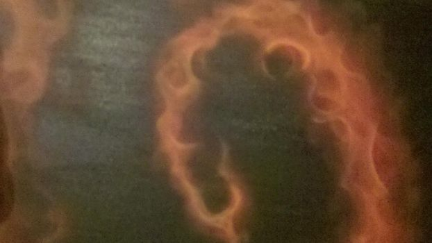 airbrushed fire by BlindSideCustoms