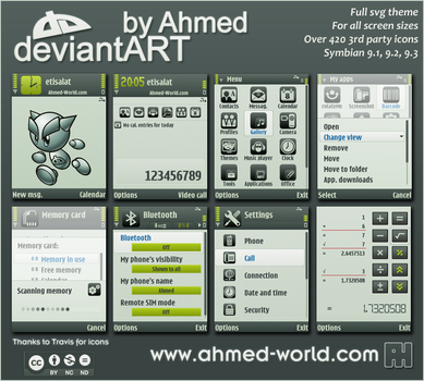 deviantART.09 theme By Ahmed by AhmedWorld