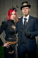 Steampunk outfits by Iiriva