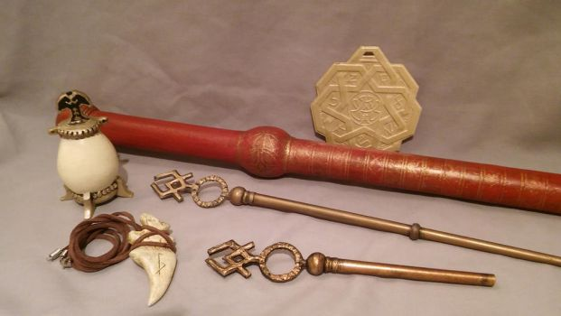 Legend Of The Seeker Prop collection by Brashsculptor
