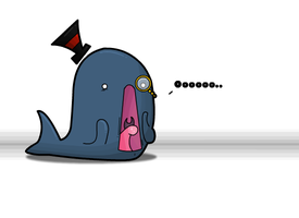 Whale by Meatball-man