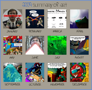 Art Summary 2009 by CNCGB
