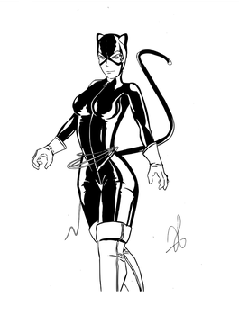 Catwoman by SylFr