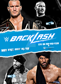 WWE Backlash 2017 Poster by SidCena555