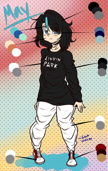 Character Ref: May by dbz-senpai