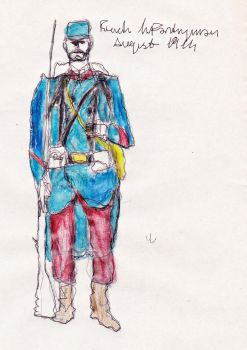 French Infantryman by cubicangel