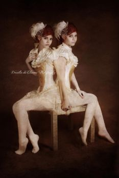Conjoined Twins 2 by Drusilla-du-Charme