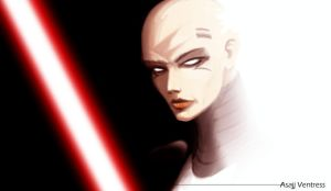 Asajj Ventress III by lifebytes
