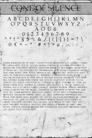 CONE OF SILENCE - FREE FONT by doodle-lee-doo