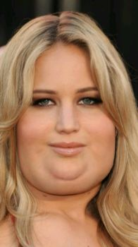 Fat Jennifer Lawrence 3 by peanut85
