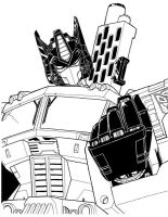 Shattered Glass Optimus Prime by MSipher