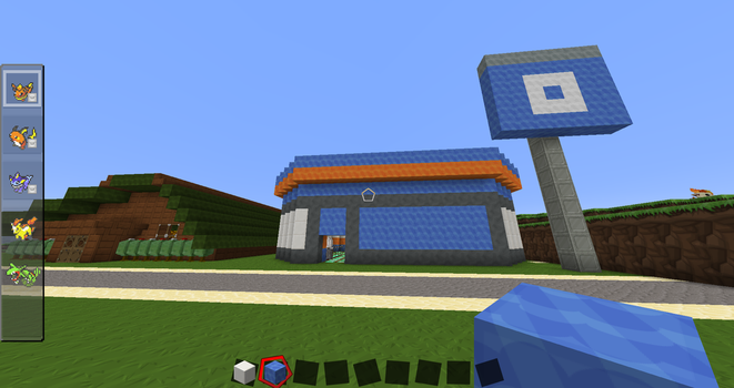 Viridian City Pokemart Exterior by The-Macattack