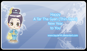 Happy New Year Thin Gyan Eng by tayzar44