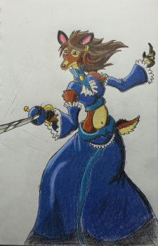 Duelist of the Blue Manor by Jblask