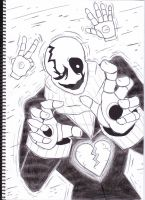 W.D Gaster by DJ95code-hope