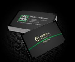 Electro Business Card by xnOrpix