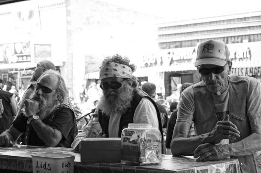 Sturgis Rally 2013: At the Bar by AshleyWass