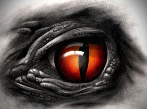 Creepy Eye by badfish1111