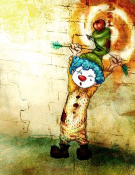 the target clown by makie-strife