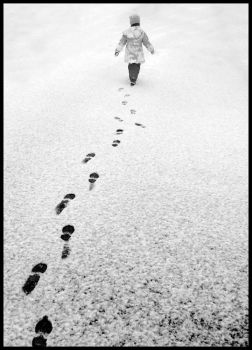 Footprints by PhotoPurist
