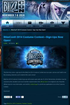 BlizzCon 2014 Screenshot by Roskvape