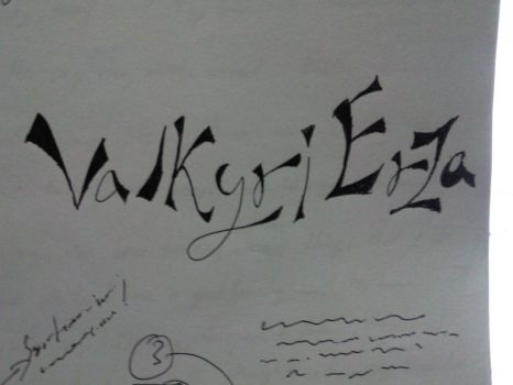 A collab of two names.., by SyafiqDanz