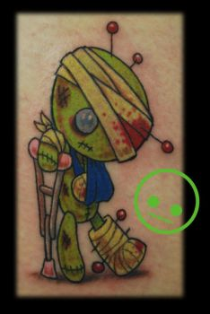 Injured Voodoo Doll by Omedon