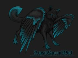 RoyalQueenWolf by EquideDesigns