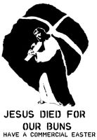Jesus died for our buns final by zward