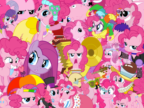 Too Much Pinkie Pie by X-TURENT