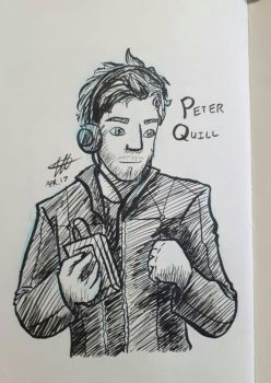 Day 15: Peter Quill by RachaelVTStudio