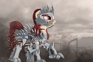 Rampage by LuckyDragoness